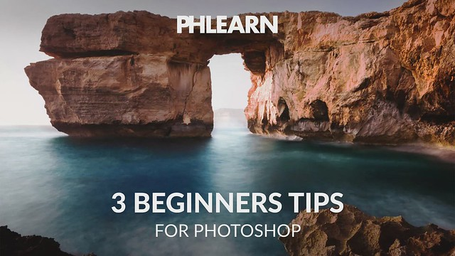 PHLEARN on Flickr: 3 Beginners Tips for Photoshop