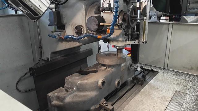 699.01 Machining Super Heater Header
