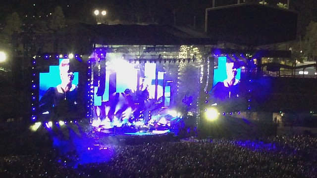 Billy Joel and Pink at Dodger Stadium