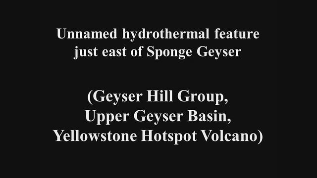 New breakout near Sponge Geyser