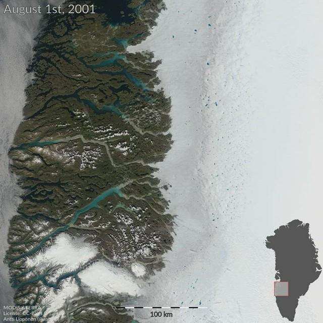 Greenland 1st August