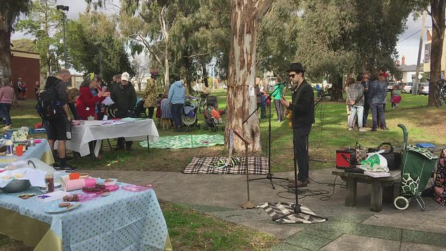 Kids, music, scones, cake and community activism to #saveGandolfoGardens IMG_1542