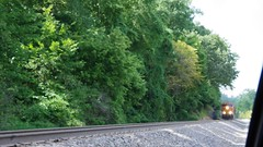 Southbound BNSF freight train, Perry County