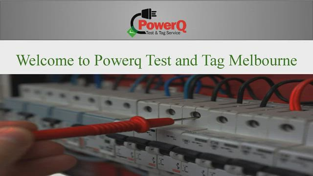 Electrical Testing and Tagging Melbourne