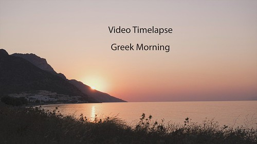 Greek Morning - Video Time-lapse