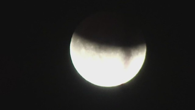 A Partial Eclipse of the Moon