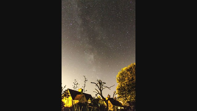 45 Minute Milky Way Timelapse from Oxfordshire 25/08/19