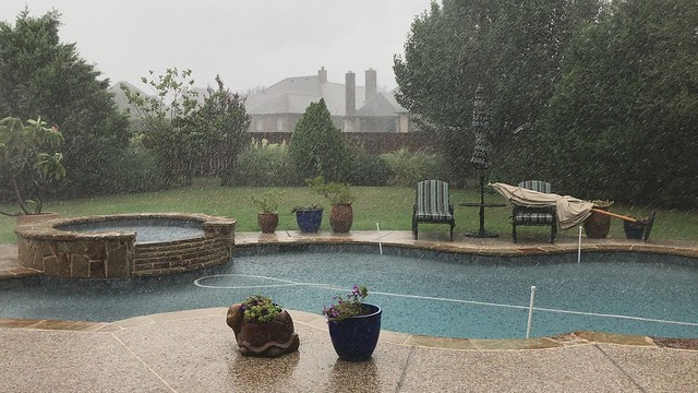 Typical Texas Thunderstorm