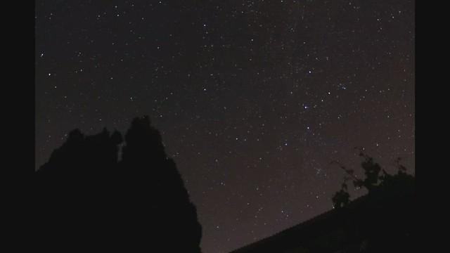 1 Hour 20 Minute Circumpolar Star Trails Timelapse Video 01/09/19