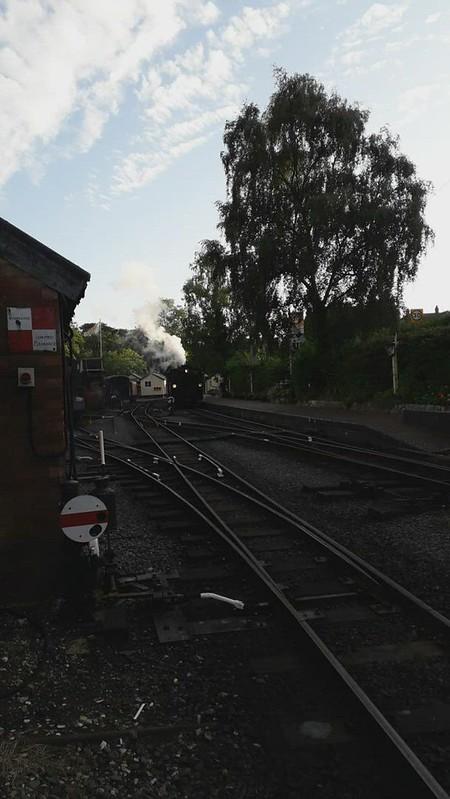 Evening Test Train