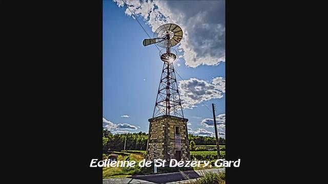 Eolienne Saint-Dézéry, Gard. 8 septembre 2019