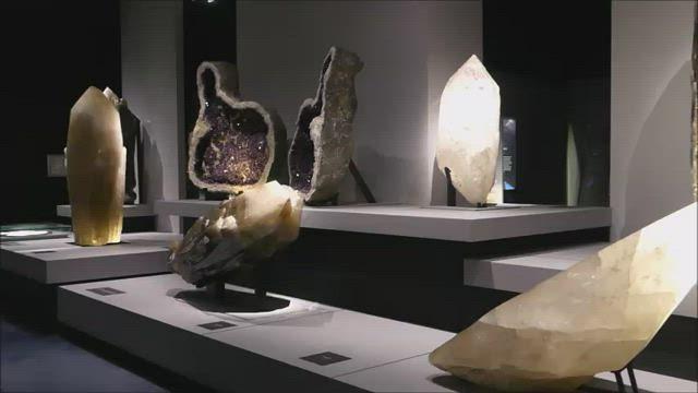 Les cristaux géants du Muséum