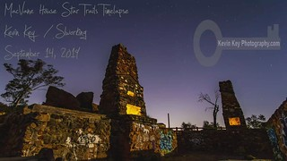 Starry Night Timelapse at the Ruins of the MacVane House