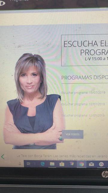Entrevista en el gabinete de Julia Otero