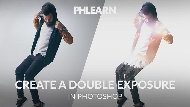 PHLEARN on Flickr: How to Create a Double Exposure in Photoshop