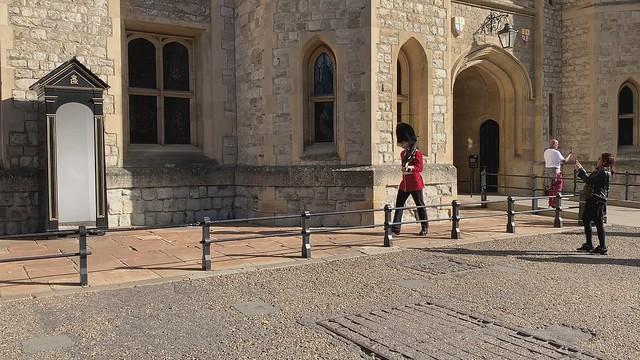 Royal Guards at Waterloo Barracks, Tower of London