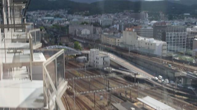 MVI_6623 Shinkansen traffic at Kyoto Station