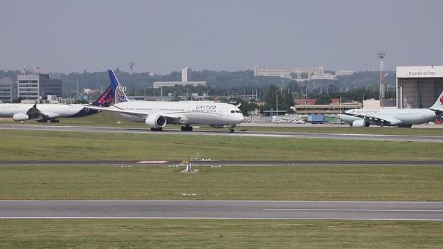 United departure in Brussel
