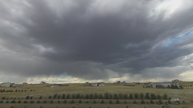 Narrow Band of Passing Showers