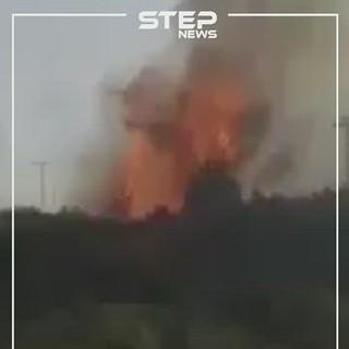 شاهد: قتلى وجرحى في حرائق ضخمة تلتهم غابات طرطوس وسط عجز إطفائيات النظام عن إخماده