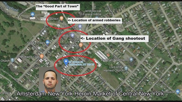 Heroin Market of Central New York, Unsafe Amsterdam