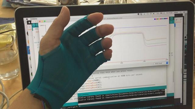 glove sensor test