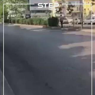 شاهد بالفيديو||انقلاب عسكري في لبنان ومظاهرات حاشدة ضد النظام