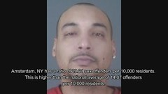 Child Rapist on the Move in Violent Unsafe Amsterdam New York