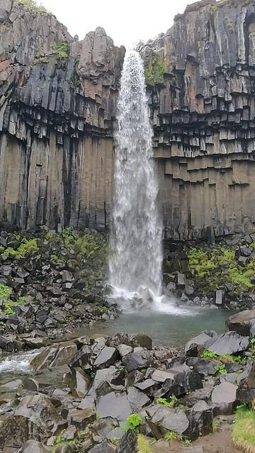 Iceland - Vatnajökull National Parc Svartifoss