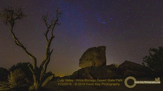 Star Trails, Boulders, and Dead Tree Timelapse In the High Desert