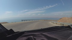 A drive to  Dead Sea & Jordan Valley. 4K Hi Reolution.