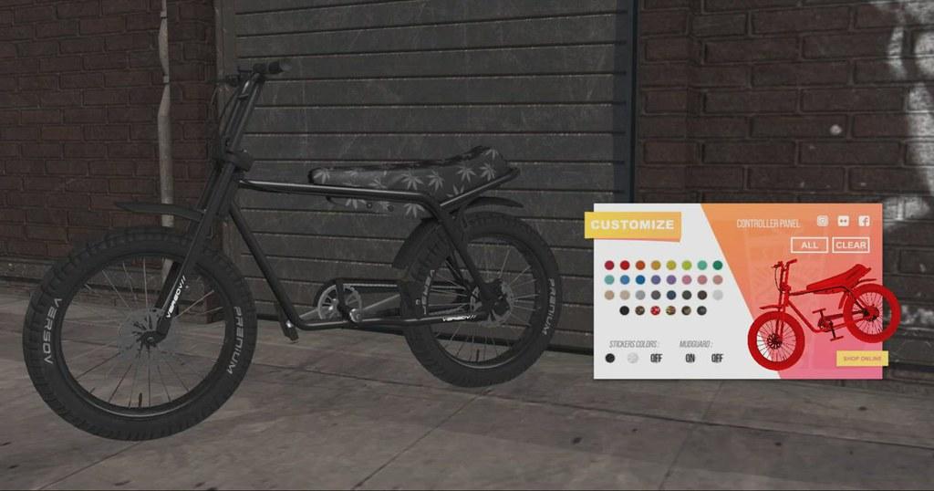 [ Versov // ] E-BIKEOV Fatbike available at Kustom9