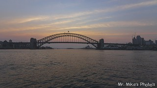 Sunrise Sydney from Blues Point Reserve at 2019.11.02
