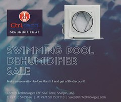 5% discount on swimming pool dehumidifier