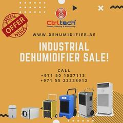 5% off on Industrial dehumidifier in UAE