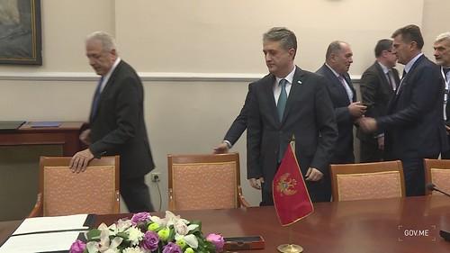 Potpisivanje Sporazum između CG i EK o sprovođenju Zajedničkog akcionog plana za borbu protiv terorizma na ZB - kadrovi