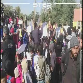 قالب - مظاهرة طلابية بدير الزور 19-11-2019