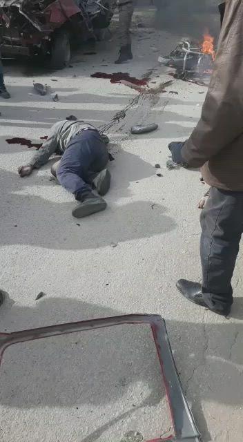 عبوة ناسفة تضرب مدينة إعزاز وتوقع ضحايا (فيديو)