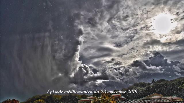 Vidéo de l'épisode méditerranéen du 23 novembre 2019