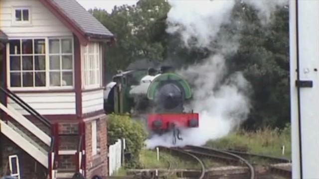 Foxfield Railway Blythe Bridge Staffordshire 29th July 2000