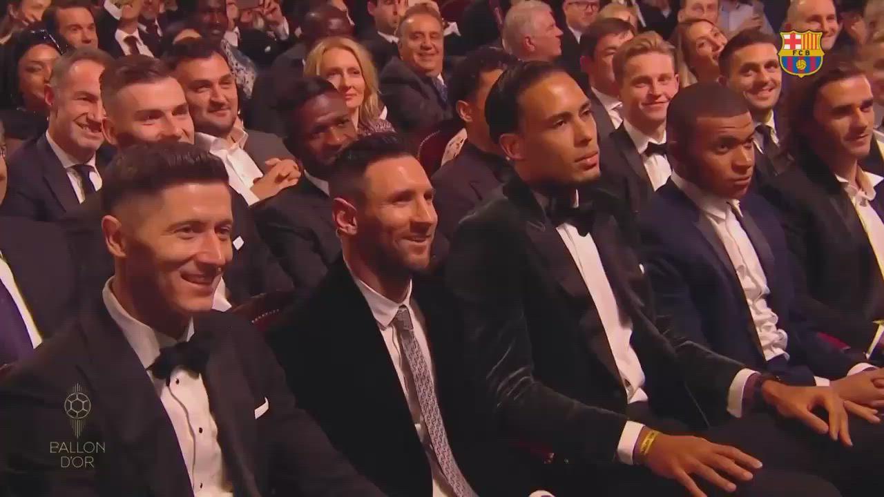 بالفيديو   ميسي أفضل لاعب في العالم لعام 2019 وصلاح خامساً