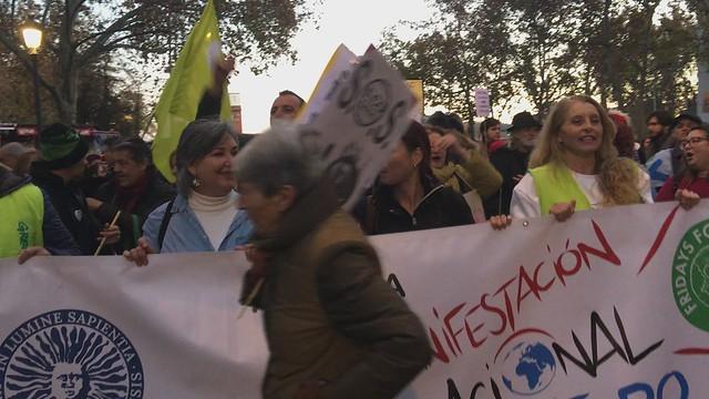 COP25 Marcha por el Clima Madrid