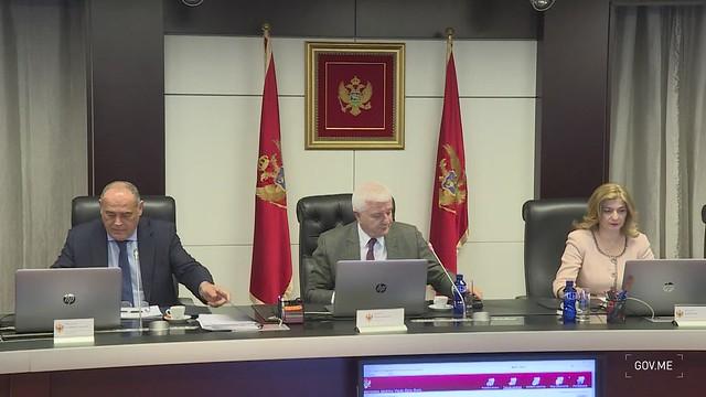 147. sjednica Vlade Crne Gore - kadrovi