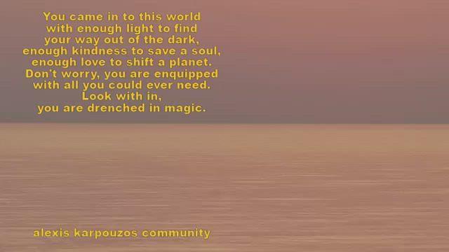 alexis karpouzos poetry
