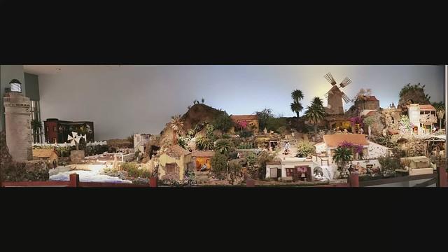 Nacimiento Canario Entre Riscos y Palmeras 2019 Ambito Cultural El Corte Inglés Las Palmas de Gran Canaria video Belén de la Asociación de Belenistas Canarios14