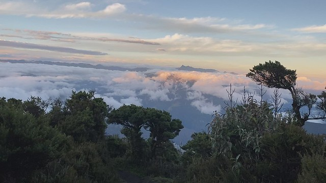 (8ºC/46ºF) El Refugio del Volcán at 3,830 meters (12,565 feet) above sea level, Climbing the Summit of the Active and Mighty Stratovolcano 'Tungurahua' ('Throat of Fire' volcano) at 5,023 meters (16,479 feet) above sea level, Baños, the Central Highlands,