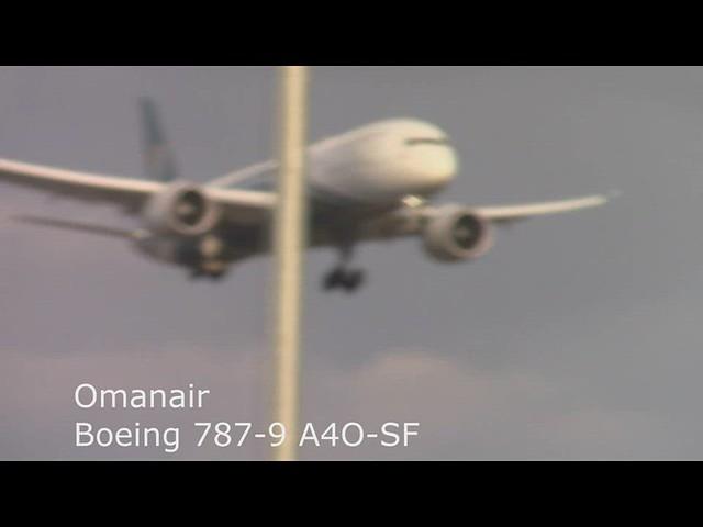 B787 A4O-SF London Heathrow 02.08.19
