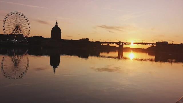 Toulouse : Quai de la Daurade
