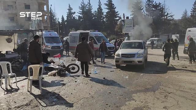 مشاهد حصرية|| كاميرا ستيب توثّق مجزرة إدلب المدينة وعشرات الضحايا كحصيلة أوليّة