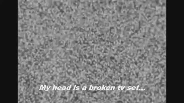 My head is a broken tv set subs